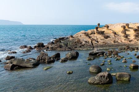 geological: Yehliu geological park in Taiwan