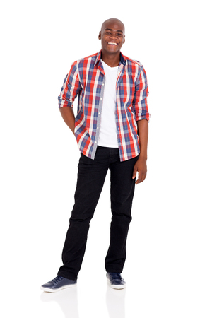 man shirt: cheerful young afro american man isolated on white background