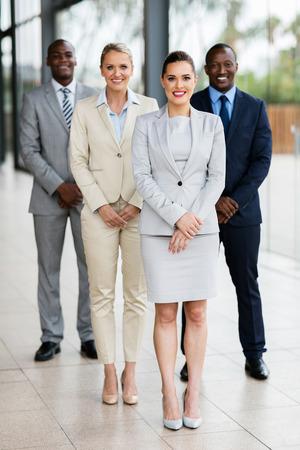 group of successful business people in modern office Standard-Bild
