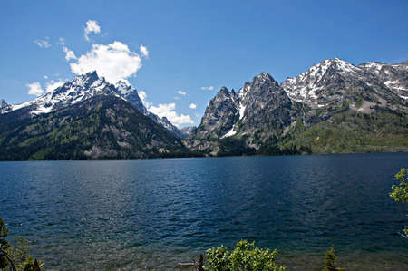 Jenny Lake Deep Blue photo