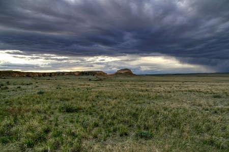 Pawnee Buttes Cloudscape