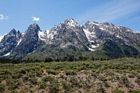 Grand Teton Mountain Range      photo