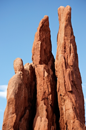 Three Graces at Garden of the Gods Colorado Springs, CO Stock Photo - 18134707