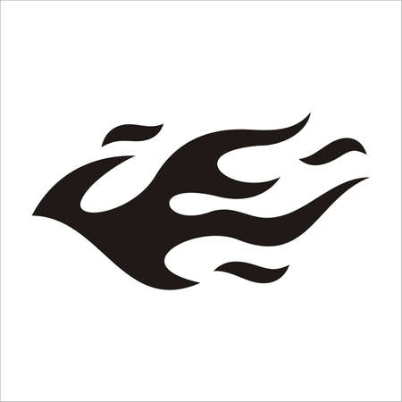 flammes: Tatouage de voiture