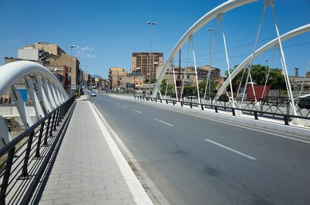 dei: Corso dei Mille over Fiume Oreto in Palermo, Cicily, Italy