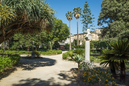 giardino: Park Giardino Garibaldi Villa, Palermo, Italy