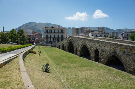 ponte: Piazza Ponte dellAmmiraglio, Palermo, Cicily, Italy Stock Photo