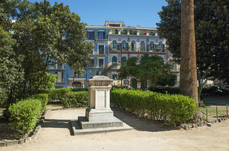giardino: Giardino Garibaldi Villa in Palermo, Italy Stock Photo