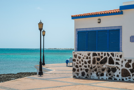corralejo: Shore in Corralejo, Fuerteventura