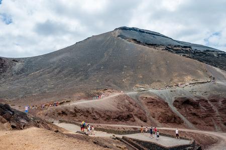 golfo: Mountain in El Golfo, Lanzarote