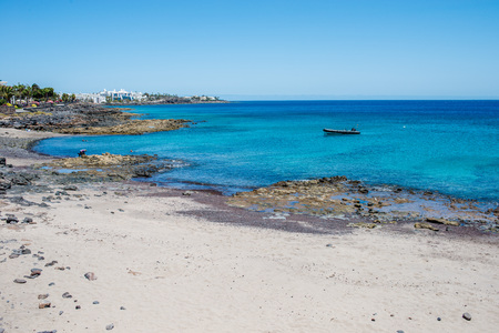 Shore in Playa Blanca, Lanzarote