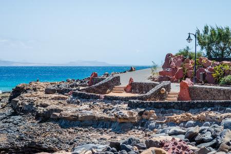 playa blanca: Promenade in Playa Blanca, Lanzarote