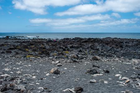 lanzarote: Landscape in El Golfo, Lanzarote