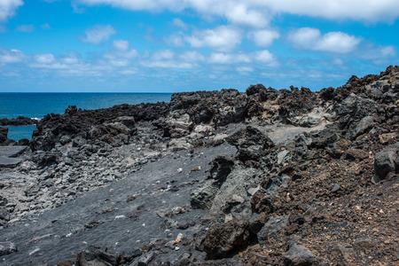 golfo: Landscape in El Golfo, Lanzarote