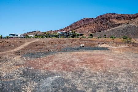 playa blanca: Valley of Montana Roja near Playa Blanca, Lanzarote