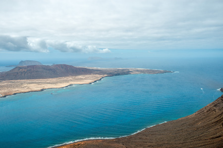 solidified: Ocean view from Mirador del Rio, Lanzarote