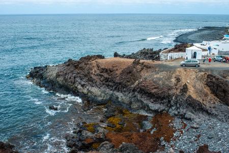 lanzarote: Shore in El Golfo, Lanzarote