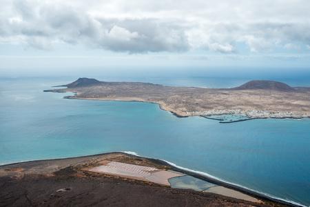 Ocean view from Mirador del Rio, Lanzarote