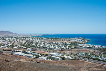 lanzarote: Playa Blanca, Lanzarote, Spain Stock Photo