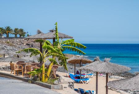 blanca: Beach in Playa Blanca, Lanzarote