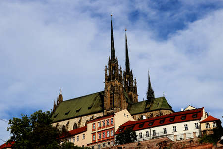 Gothical Church of St. James in Brno, Czech Republic
