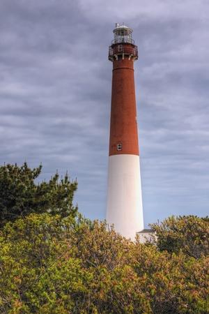 Barnegat Lighthouse at Barnegat State Park, New Jersey.