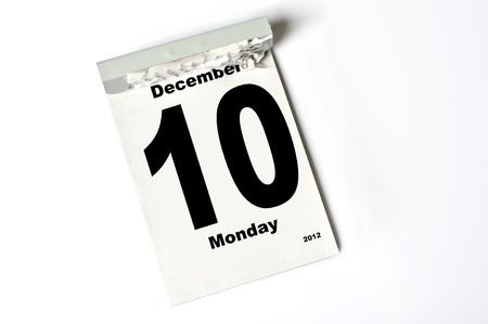 calendar sheet Stock Photo - 13084280
