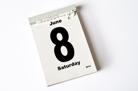 calendar sheet photo