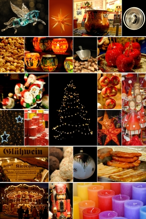 christmas market: christmas