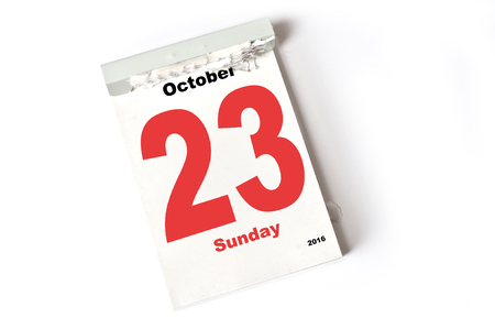 sheet: calendar sheet