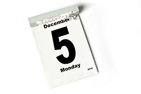 laken: kalender sheet