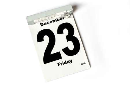 laken: calendar sheet