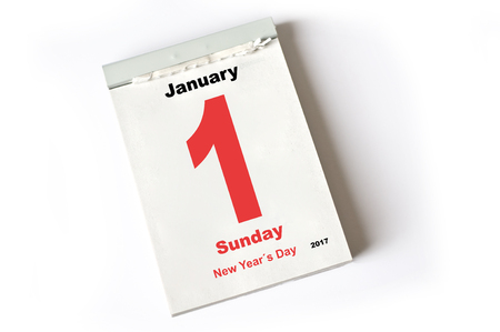 one sheet: calendar sheet