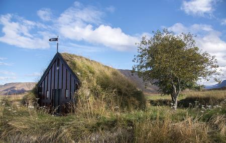 Grafarkirkja Turf-Church, Northern Iceland