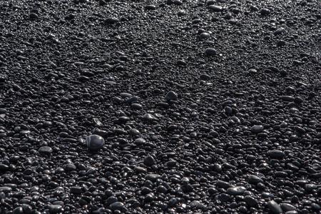 The black rocks at Vik beach.