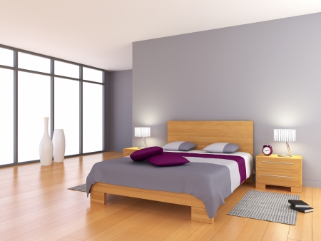3d illustration of a room Stock Photo