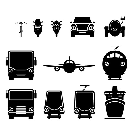 Land transport Vector