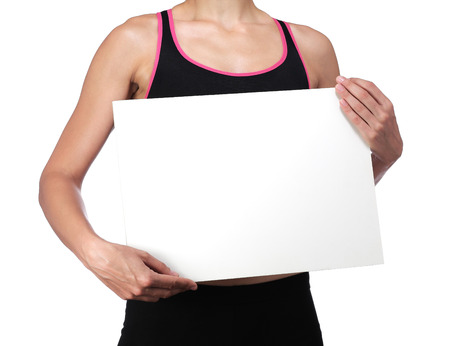 photography of a sports coach holding a white board