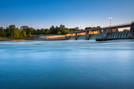 water power plant: Water Power Plant Stock Photo