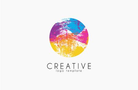 Colorful logo. web net logo icon. Geometric logo. Company logo. Vector logo icon