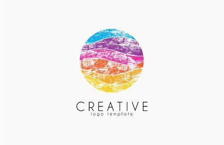 logo vector: Colorful logo. geometric icon. technology logo. web net logo icon. Geometric logo. Company logo. Vector logo icon