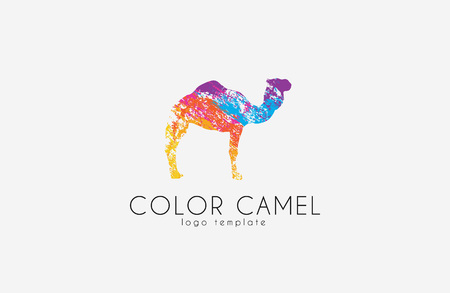 Camel . Color camel design. Animal . Creative