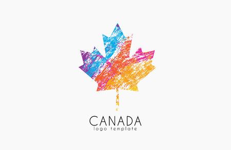 Maple leaf. Canada symbol . Canada .