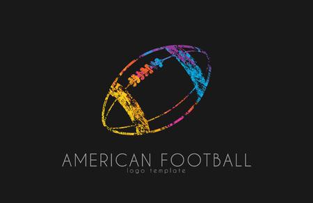 audible: American football ball. football ball. Ball .