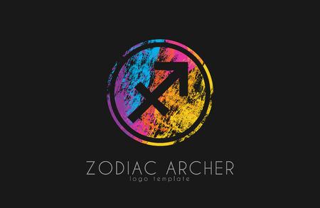 archer: Zodiac archer. Zodiac . Color zodiac .