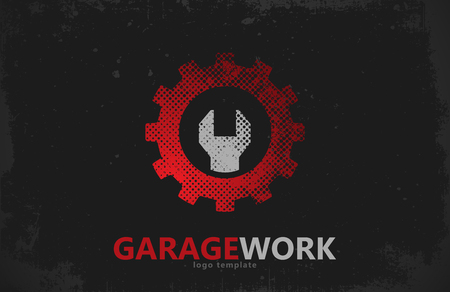 auto repair: Auto repair. Garage work logo. Auto service