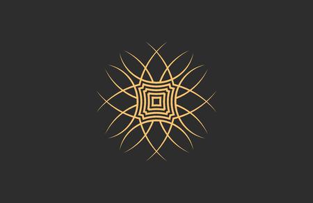 Creative logo design. Minimalistic design element. Simple logo Ilustração
