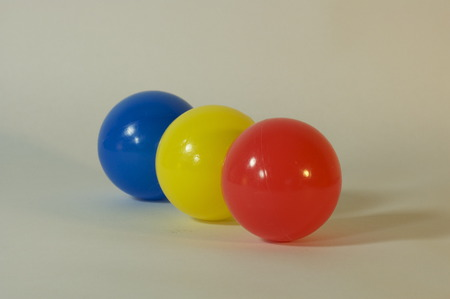 primary color balls