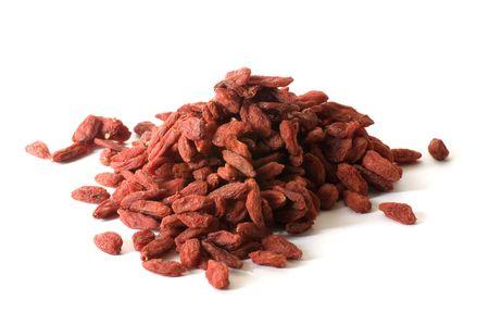 Stack of Goji Berries Stock fotó