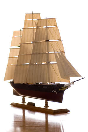 Model of the famous clipper ship the Cutty Sark. I made this myself and it took me over one year to complete.